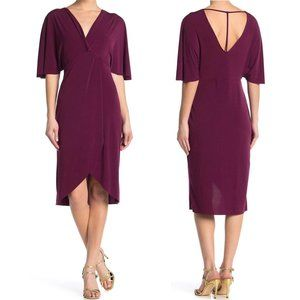 The Vanity Room NEW Twist Front Jersey Knit Dress